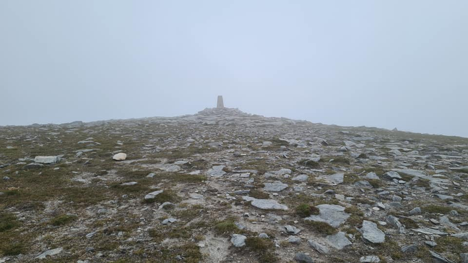 The summit of Ben Hope
